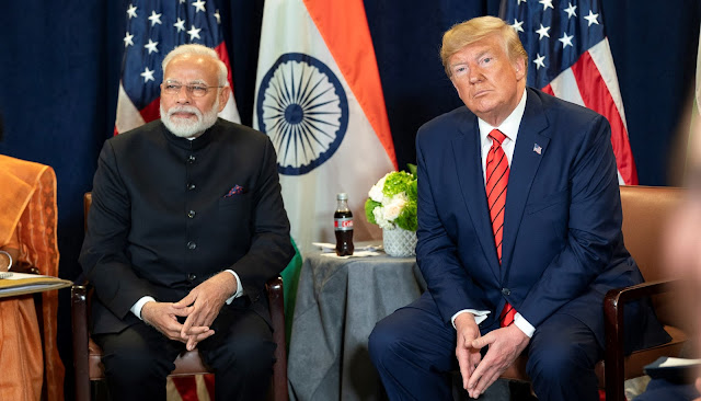 After Trumps threet, India canceld the banned on expor of gift of heeven