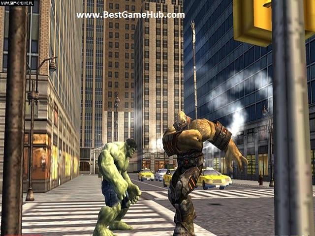 The Incredible Hulk full Version PC Game Download Free