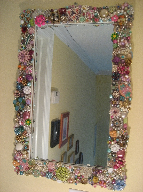 Do It Yourself House Drafting: The Art Of Up-Cycling: DIY Mirror Frame Ideas You Can Make