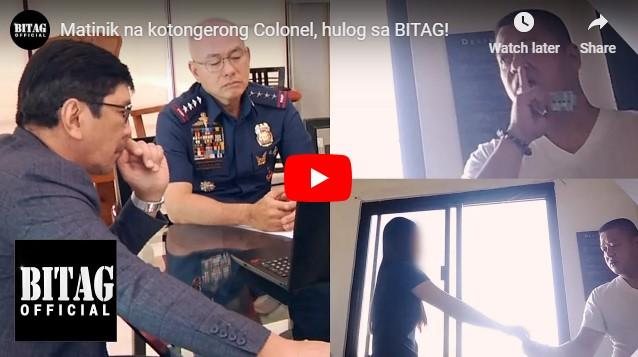 WATCH: Kotongerong Colonel, Hulog sa BITAG