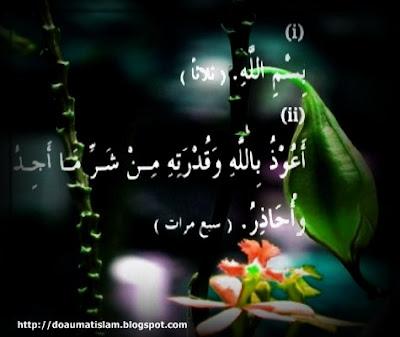 Doa Apabila Tubuh Merasa Sakit, HR. Muslim 4/1728