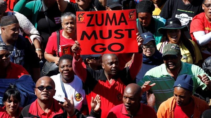 Thousands march against corruption in South Africa