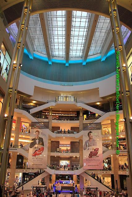 Atrium, Pavilion Mall, Bukit Bintang, KL, Malaysia