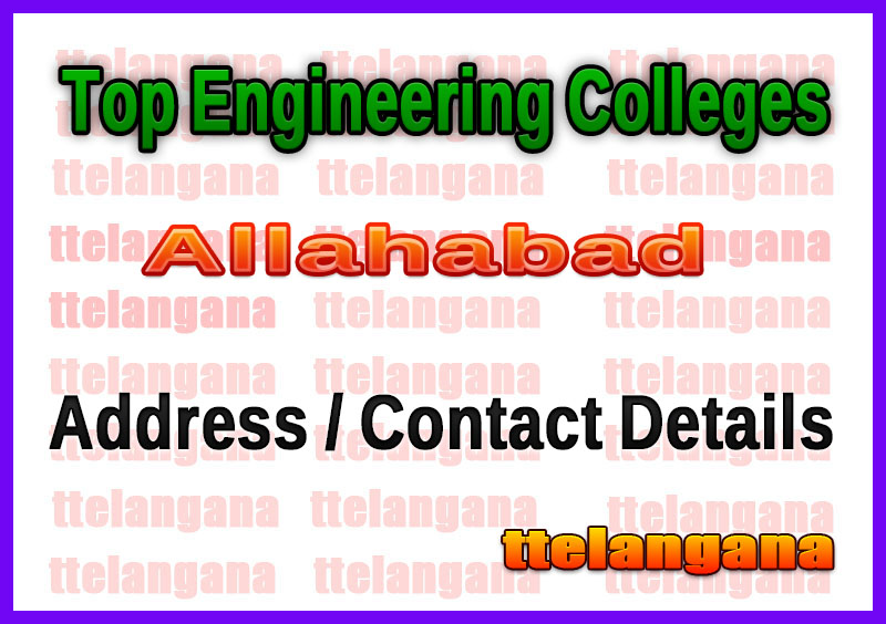 Top Engineering Colleges in Allahabad