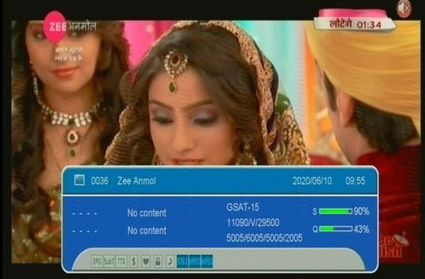 Zee Anmol Frequency, Zee Anmol channel Number, Zee Anmol DD Free Dish