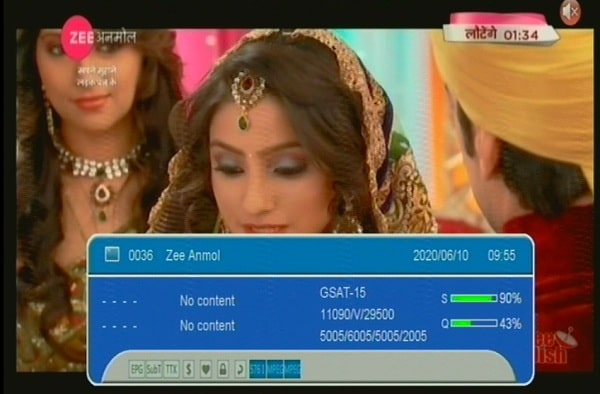 Zee Anmol, Zee Network's Hindi GEC on Channel Number 005