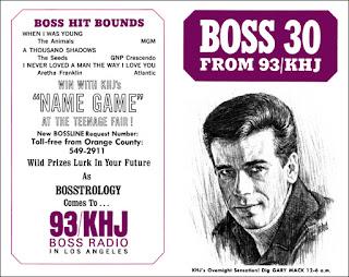KHJ Boss 30 No. 89 - Gary Mack