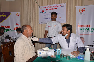 GP Petroleums organizes oral cancer checkup in Sillod, Aurangabad