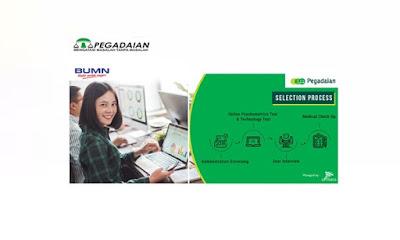 Lowongan Kerja BUMN Terbaru PT Pegadaian (Persero) Agustus 2019