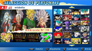 DESCARGA! DBZ TTT MOD CON MENÚ PERMANENTE CROSSOVER ISO FULL [FOR ANDROID Y PC PPSSPP]