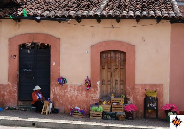 San Cristóbal de Las Casas, bancarelle improvvisate
