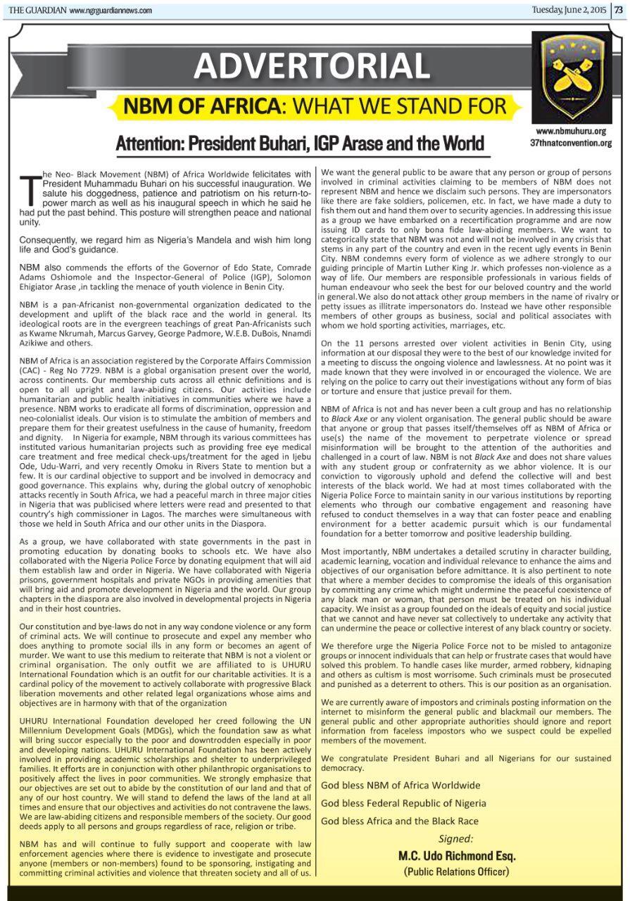 Stella Dimoko Korkus com: Attention - President Buhari,IGP