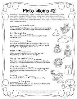 The Puzzle Den - Picto-Idioms #2