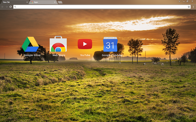 Countryside Chrome Theme