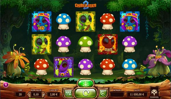 Main Gratis Slot Indonesia - Chibeasties 2 Yggdrasil