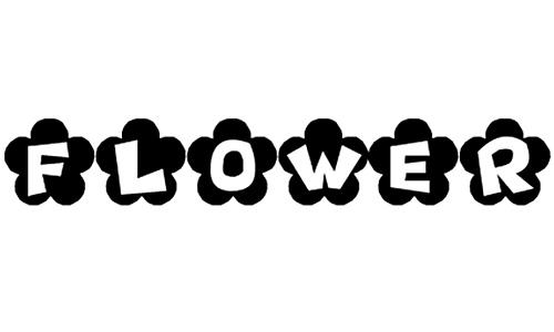 tipografia hippie