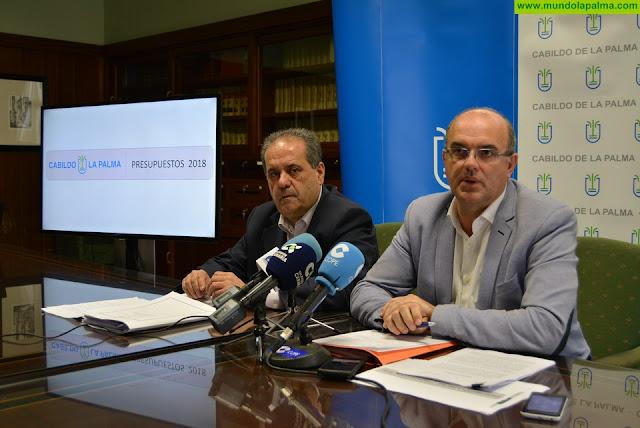 El Cabildo de La Palma considera ilegal la resolución del Gobierno de Canarias que no admite la justificación de los Fondos Fdcan de 2017