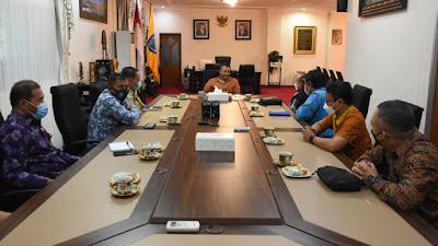 Terima Kunjungan Kalan BPK NTB, Gubernur Minta Perkuat Sinergi dan Kolaborasi