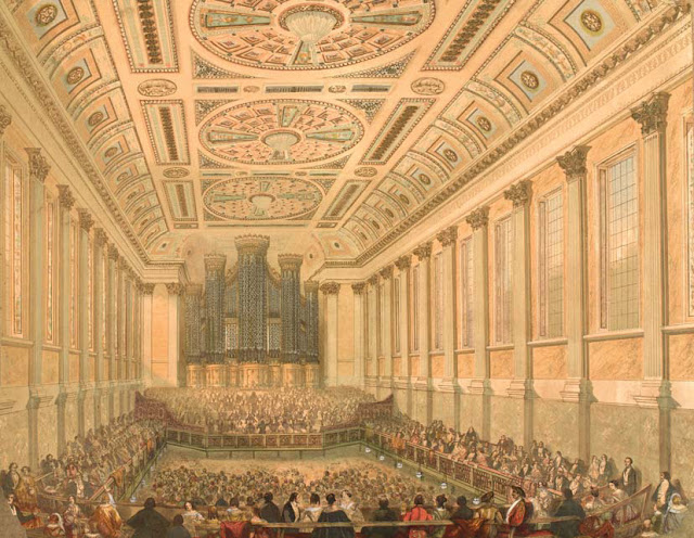 Birmingham Triennial Music Festival at the Town Hall, 1845