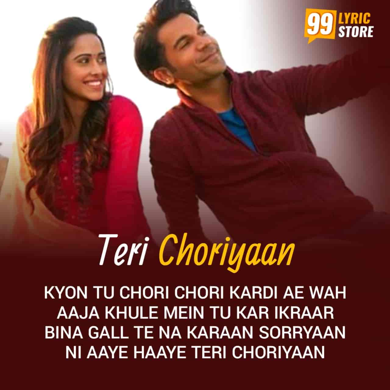 A very beautiful punjabi song Teri Choriyaan Rajkumar Rao and Nushrratt Bharuccha starrer movie Chhalaang's next song which will steal our hearts.