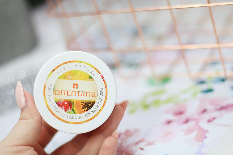 Orientana, Naturalny Kremowy Peeling do Twarzy Papaja i Żeńszeń Indyjski