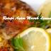 Resepi Ayam Lemon Lazat  dan mudah