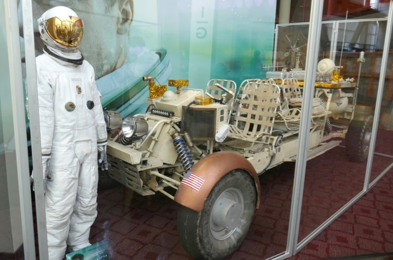 Ad Astra costume and space buggy