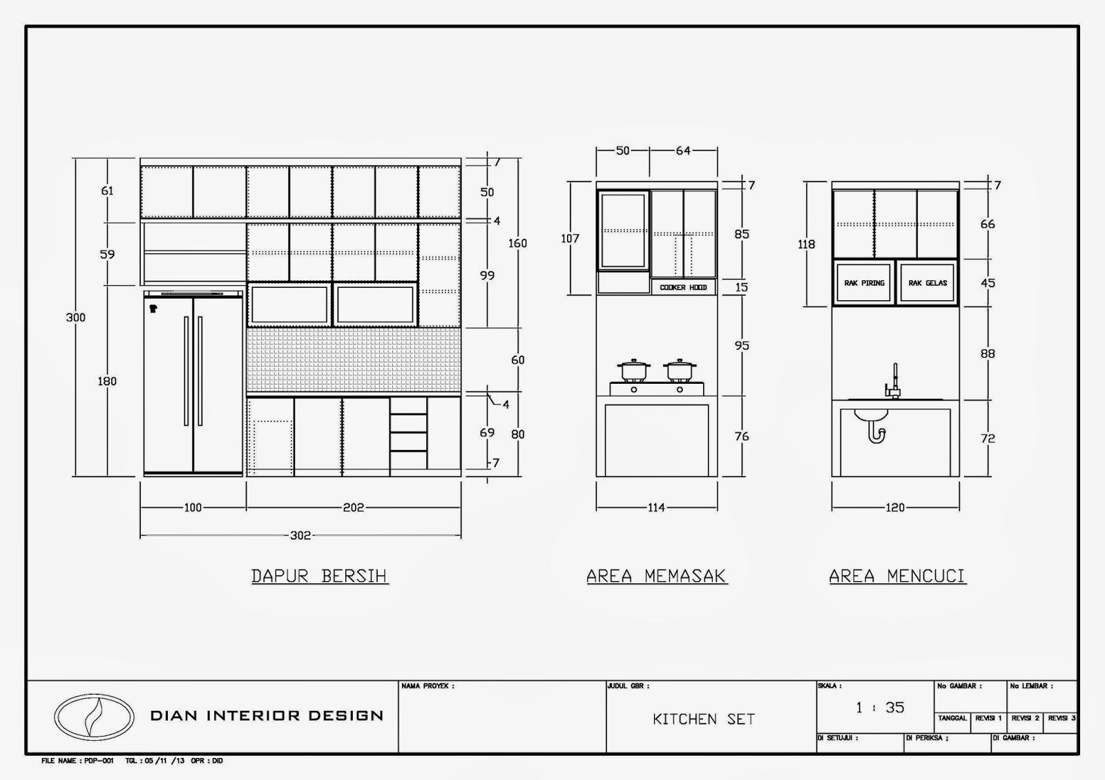 DAPUR BERSIH DAN DAPUR KOTOR  Dian Interior Design
