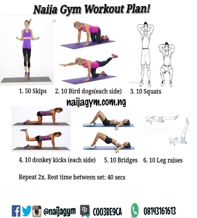 Saturday - 7/12 Exercise/meal plan