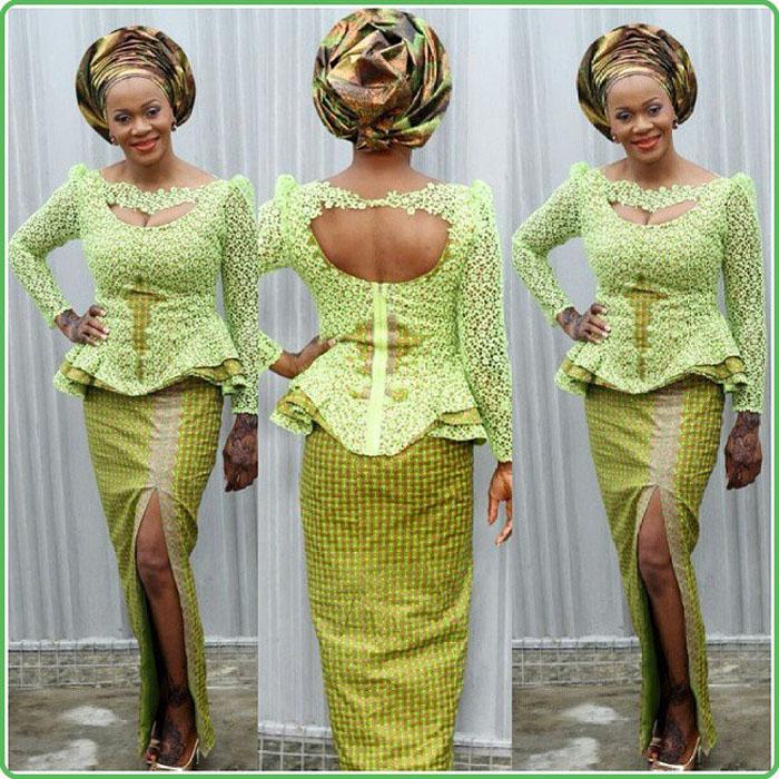 ankara-lace-style