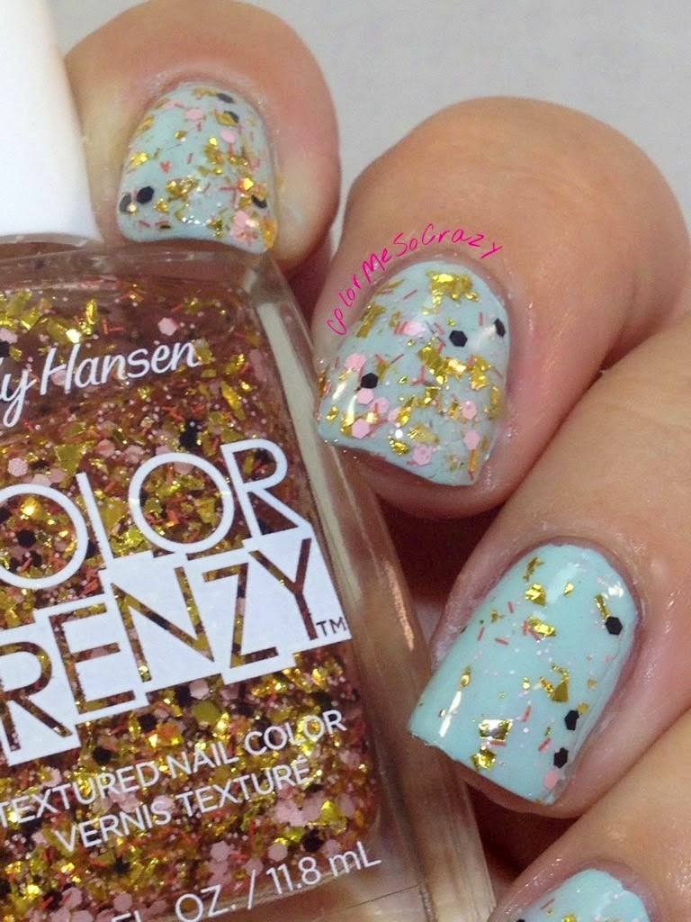 Splattered from the Color Frenzy Collection From Sally Hansen