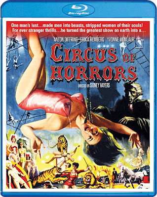 Scream Factory's CIRCUS OF HORRORS Blu-ray Cover Art