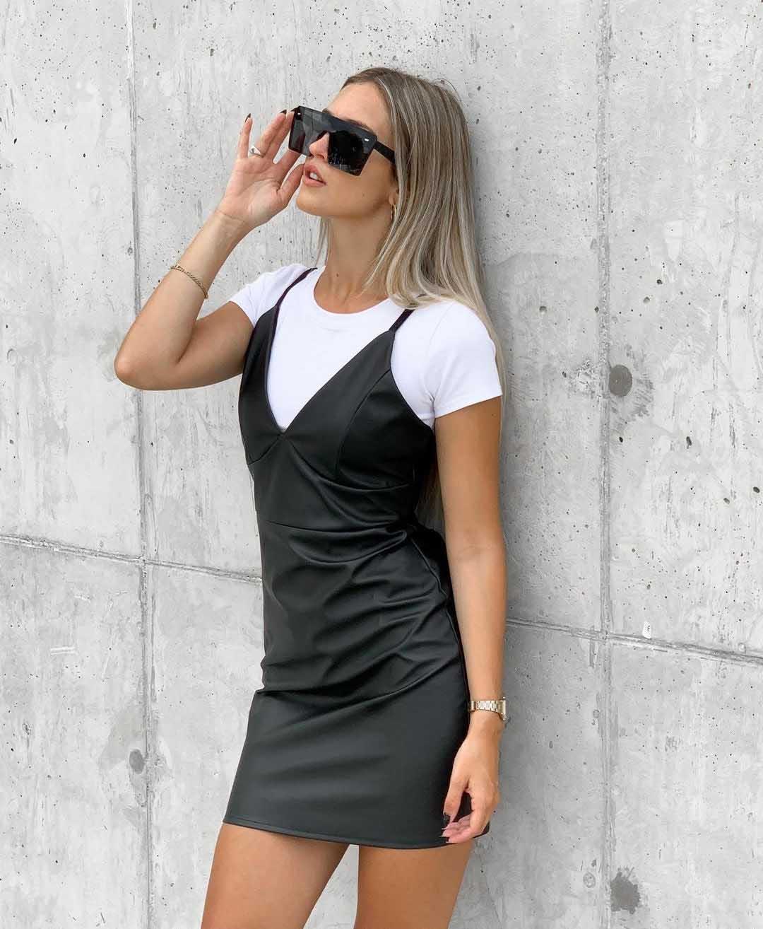vestidos cortos juveniles invierno 2021