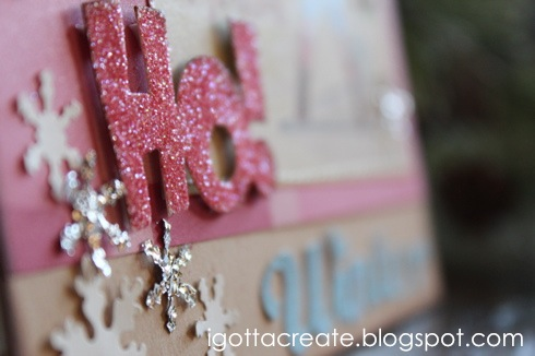 Make #aluminum foil WAFFLE CLOTH | #snowflakes at I Gotta Create!