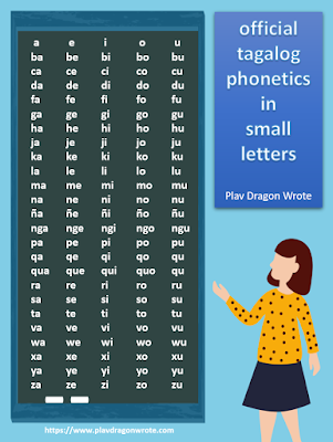 The Official Tagalog Phonetics in small Letters - Effective Reading Guide for Kids