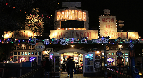 cars land disney california adventure christmas