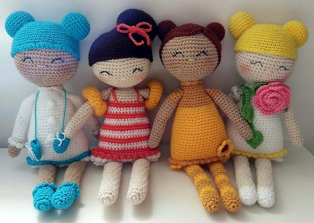 Boneca Amigurumi
