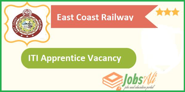 ITI govt jobs,East Coast Railway job notifications,Indian Railway Recruitment 2017 for 10th pass