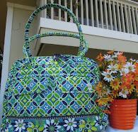 New! Vera Bradley zipper bag