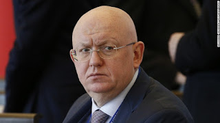 Russian Permanent Representative to the UN Vasily Nebenzya