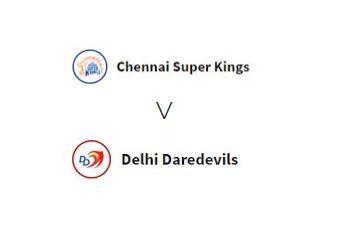 चेन्नई सुपर किंग्स मैच 1 बनाम दिल्ली कैपिटल्स