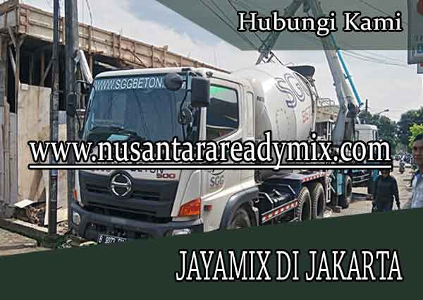 HARGA BETON JAYAMIX JAKARTA 2020