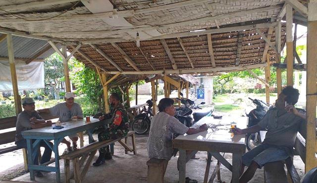 Jalin Silaturahmi Dengan Tokoh Masyarakat Dilakukan Personel jajaran Kodim 0207/Simalungun
