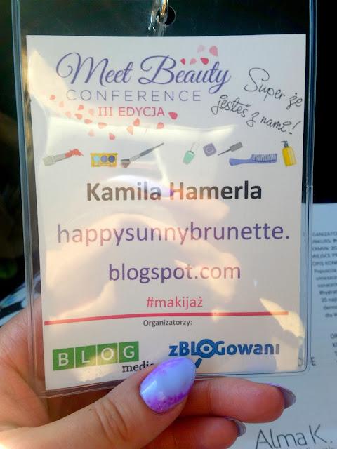 konferencja meet beauty identyfikatory