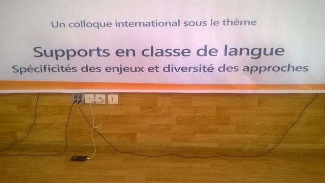 COLLOQUE INTERNATIONAL SUR LES SUPPORTS EN CLASSE DE LANGUE(S)