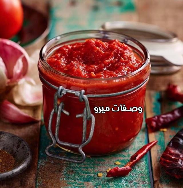 صوص الطماطم المكسيكى الحار