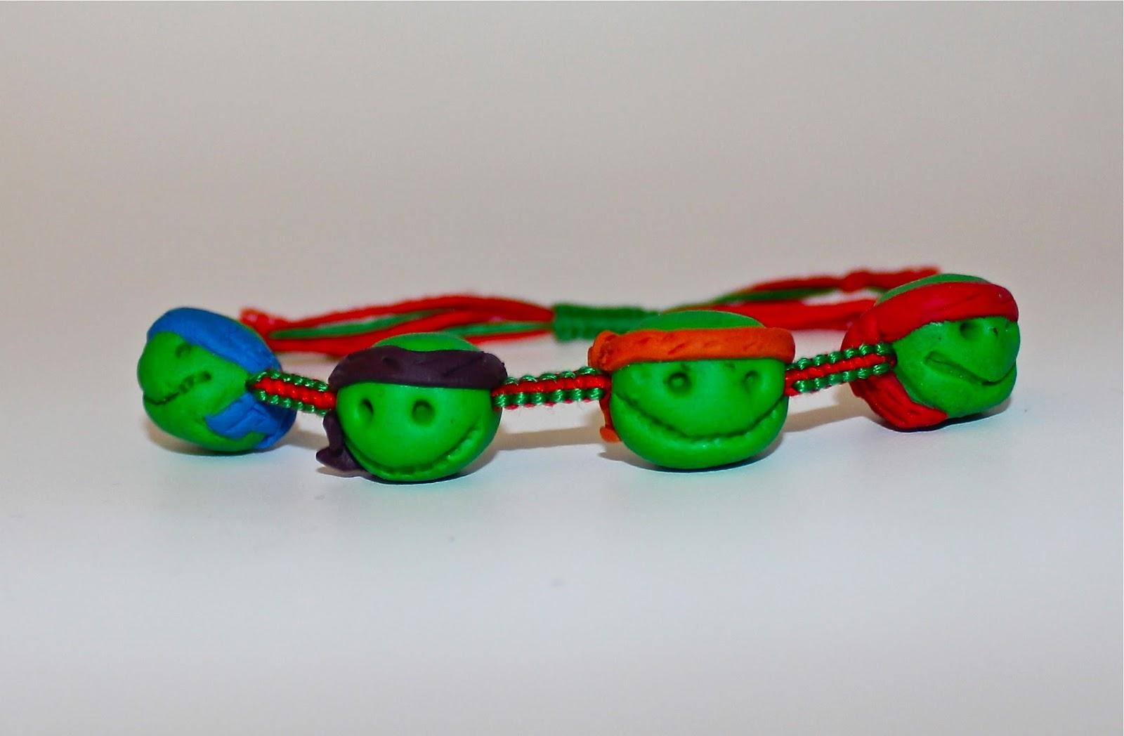 428670a9ce0e78 Bracelet Fan-art des Tortues ninja