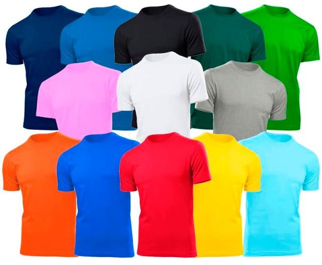 8081b3aa9 ATELIÊ TEC  Camisetas lisas para estampar