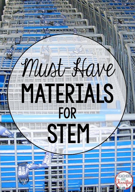 Materials for STEM class seem daunting, but they really are not that difficult! This blog post will give you some must-have supply ideas that will get you started at a small cost- or even free!