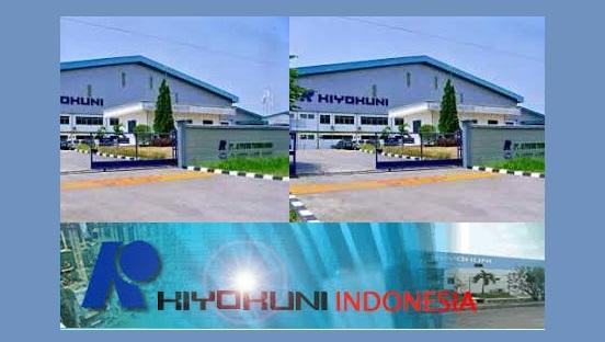 Lowongan PT Kiyokuni Indonesia Bulan Mei - Juni 2018 (Karawang)